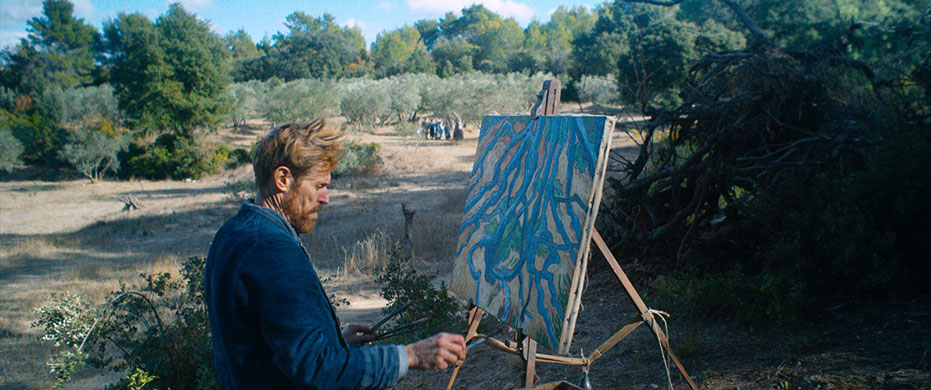 Dafoe's New Film Trailer for Van Gogh Role in At Eternity's Gate: Watch